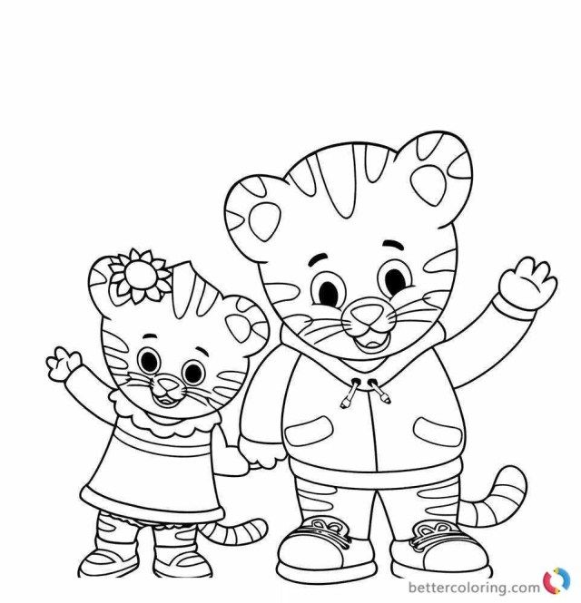 25 Creative Image Of Tiger Coloring Page Birthday Coloring Pages Daniel Tiger Halloween Coloring Pages