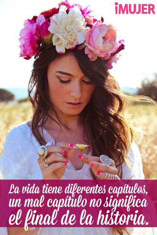 #Frases La #vida tiene diferentes #capítulos, un mal capítulo no significa el…