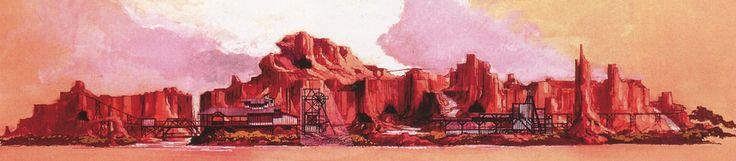 Thunder Mesa/Western River Expedition, Magic Kingdom, Walt Disney World (never built) - Mitsu Natsume