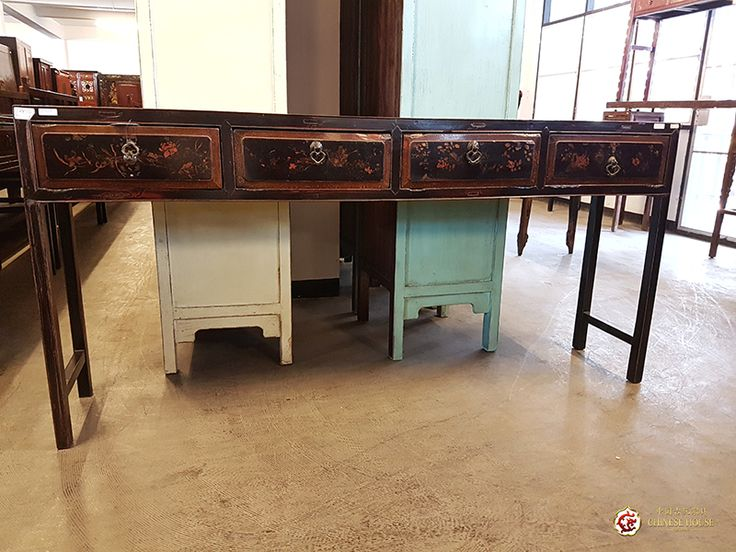 ✔ Fujian-Art Antique Console in Black ✔Dimension: 183W x 34D x 86H (cm.) ✔Code: CHF-29010817 ------------------------------------------------------------- 📞Phone: 094-475-9999 📞Phone: 094-501-9999 ✉Email: thavornrat@hotmail.com 📲Website: www.chinesehouse1990.com 🚚Free Delivery in Bangkok 🚚Delivery in Thailand (all area) ✈International delivery (available)