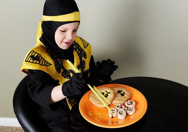Ninja Sushi Rolls snack