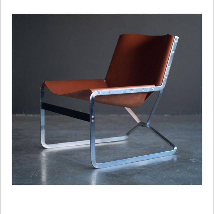 """Timothy Godbold: """"Rare Pierre Pailin chair for A. Polak originals"""