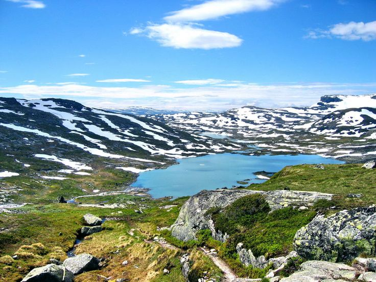Hardangervidda National Park Noorwegen