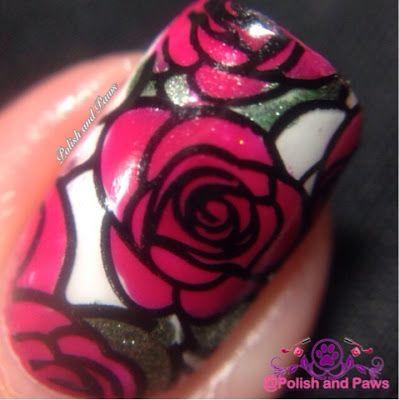 Nail Art: Born Pretty Store Stamping plate BP-73