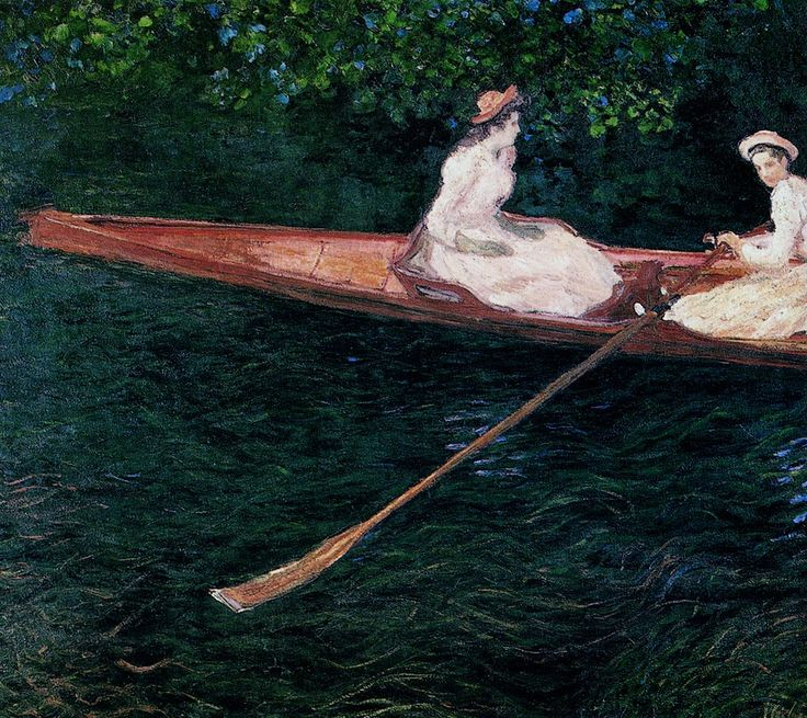 Βαρκάδα στο ποταμό Epte (1887)
