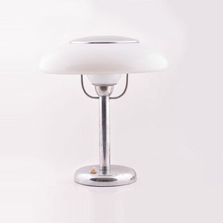Rare funkcionalist lamp by Napako