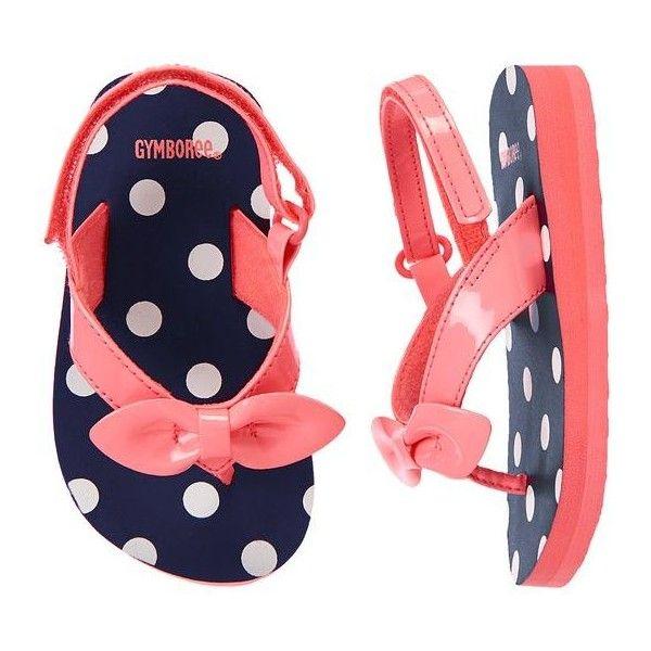 Polka Dot Bow Flip Flops ❤ liked on Polyvore featuring shoes, sandals, flip flops, navy sandals, polka dot shoes, navy flip flops, strappy sandals and polka dot flip flops