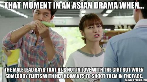 the denial part usually my favorite scenes in a drama,lol