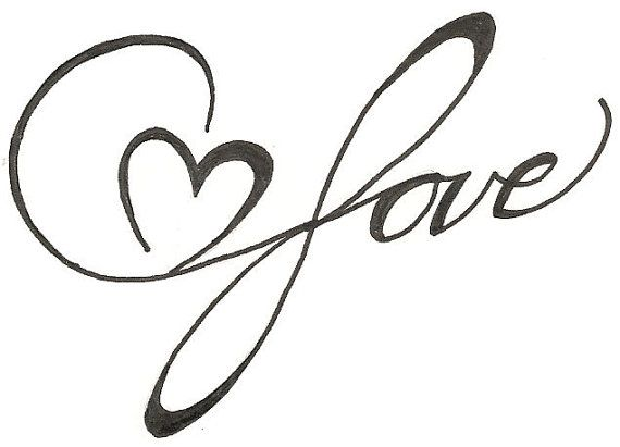 Infinite Love Heart Drawing Original Tattoo by ginaleecincotta ...
