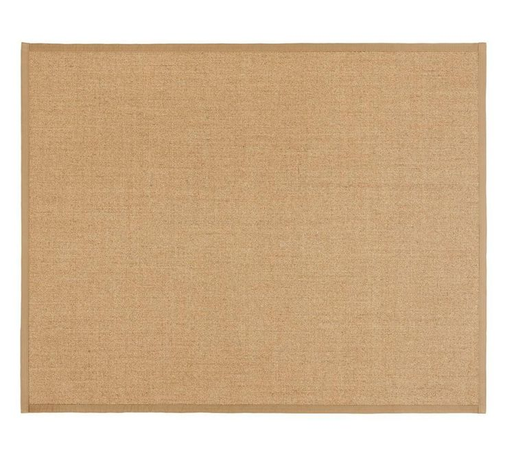 Colour-Bound Natural Sisal Rug, Chino $341.40