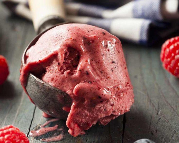 Λαχταριστό σορμπέ φράουλα