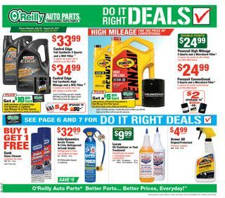 O Reilly Auto Parts July 26 - August 29, 2017 - http://www.olcatalog.com/oreilly-auto/oreilly-auto-parts.html