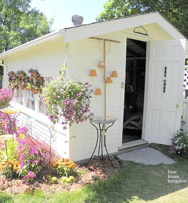 I love this shed, I want one like this..