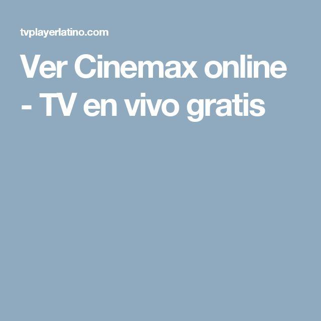Ver Cinemax online - TV en vivo gratis