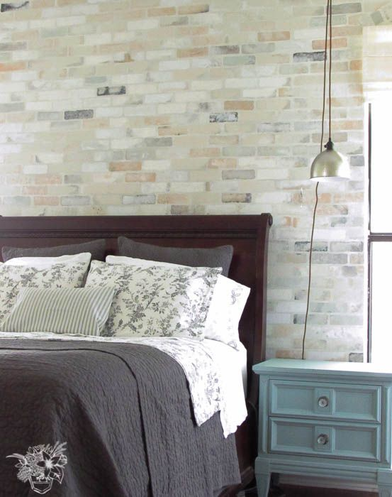 1000 ideas about brick accent walls on pinterest master for Faux brick edging