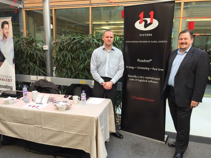 We're all set up at University of Nottingham Careers Fair @ Jubilee Campus. Stop by our stand and say hello!