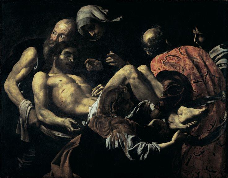 Giovanni Battista Caracciolo, detto il Battistello - Seppellimento di Cristo - 1618