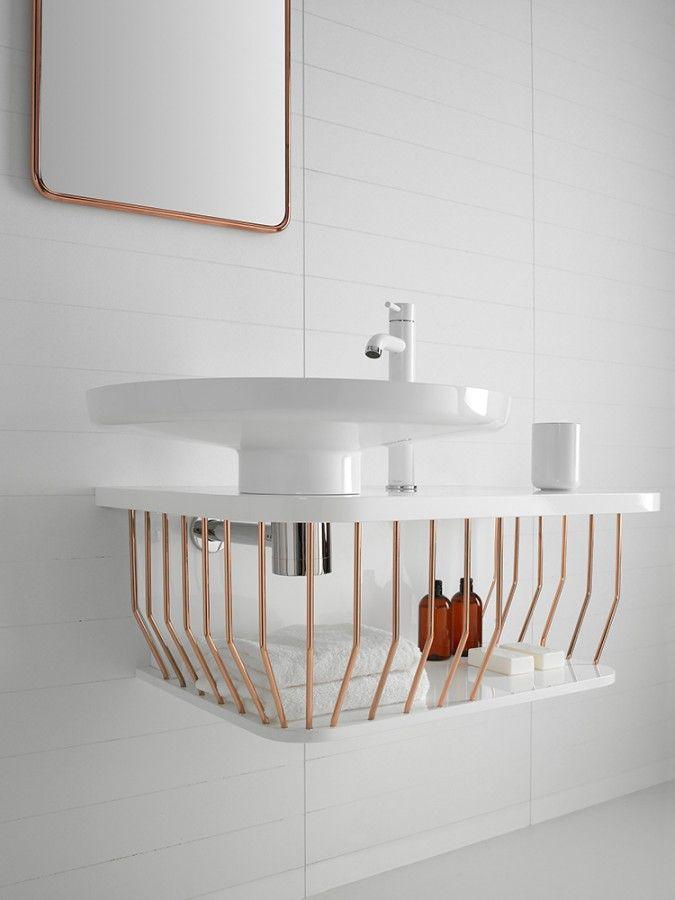 modern bathroom fountain valley reviews%0A  u    Bowl u     bathroom furniture collection bu French dedigner Arik Levy for  Inbani