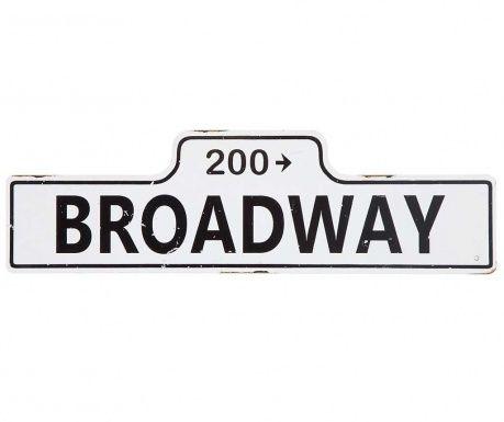 Nástenná dekorácia Broadway
