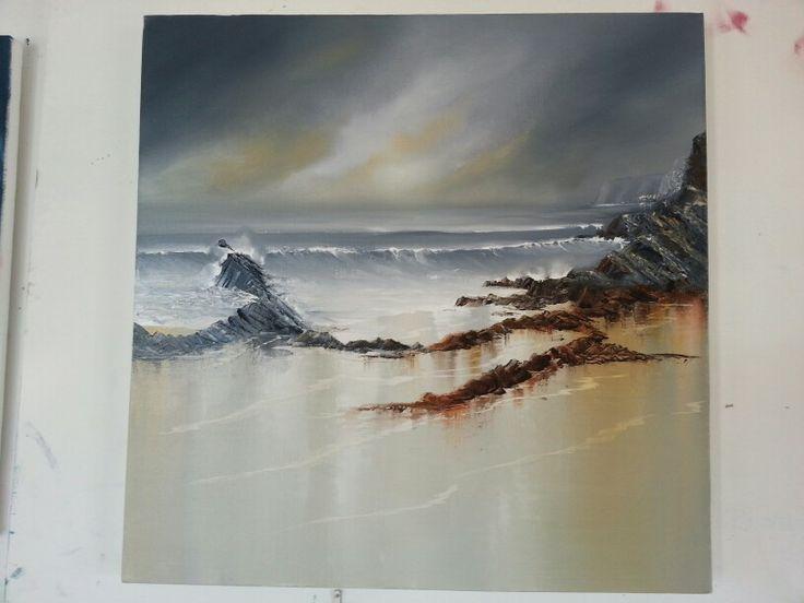 50x50 seascape.