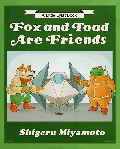 Fox and Toad are Friends: Art Stuff, Games Recast, Classic Videos Games, Games Children, Video Games, Frogs And Toad, Children Books, Stars Foxes, Nintendo Games