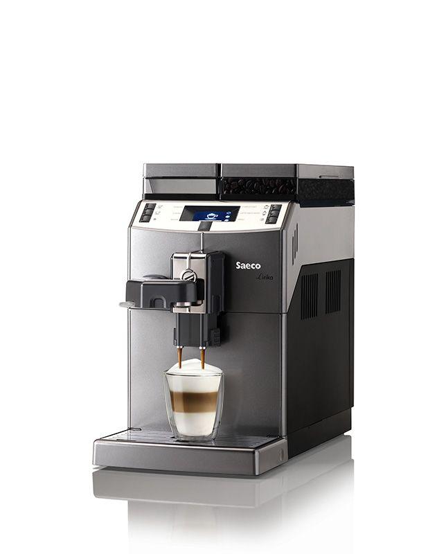 Lirika OTC - jeden z podstawowych modeli Saeco, ale bardzo sprawny. Doskonały do małego biura lub domu. Ekspres wykonuje kawy mleczne za dotknięciem jednego przycisku.