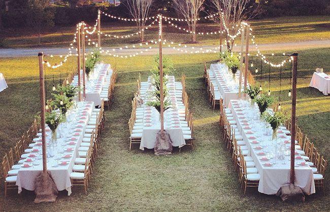 ¡Adiós, mesas redondas! La nueva tendencia en decoración - Lo básico - NUPCIAS Magazine