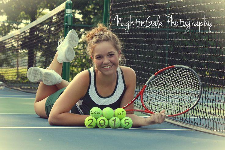 Senior Girl~tennis ideas~NightinGale Photography