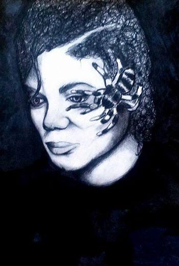 michael jackson drawing :o)