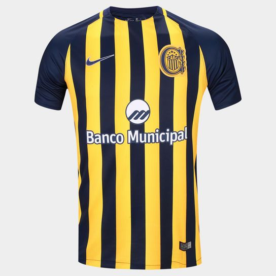 Argentina soccer league Rosario Central 2017 official Nike home jersey  #ArgentinaFootball #argentinienfußball #futebolargentino #soccerstore #soccer #soccersale #verkauffußball #footballargentin #superliga #soccerjersey #maillot #heimtrikot