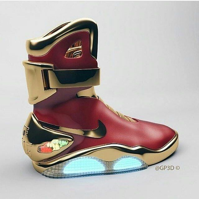 Have to love this sneaker. Thoughts? Would you buy it? Tag a friend who would  . More lux on the way ...................................................................... @hustlincofficial  . . . #Nike #sneakers #futuristic #innovation