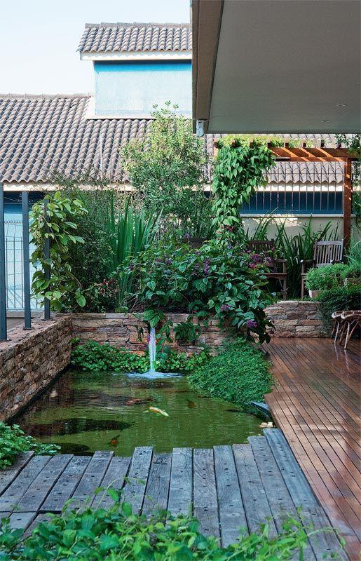 Jardim segue princípios do feng shui para cultivar o bem-estar - Casa