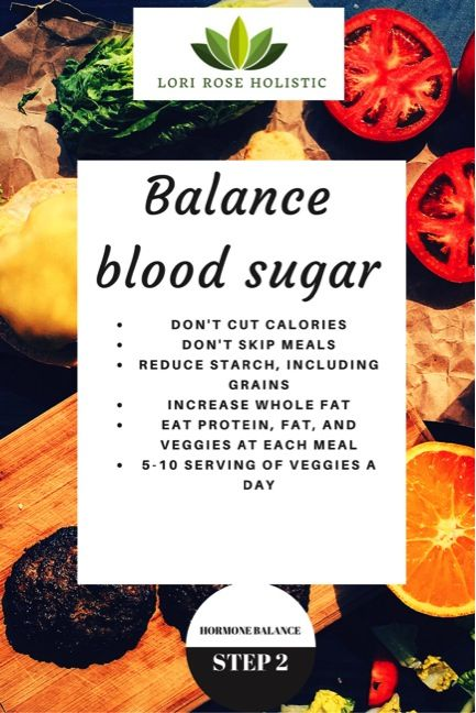 Women's Wellness series - how to balance your blood sugar with food and lifestyle changes