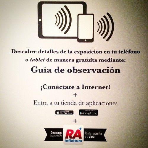 """#Tomanota / Descarga la #app #RAInfinitum y descarga contenidos de realidad aumentada que hemos preparado para la #exposición #temporal """"El Reino de las #Formas Grandes Maestros"""". #appgratuita #iphone #android #FranzMayer #NacionaldeSanCarlos #Soumaya #museos #Monterrey #NuevoLeón #México #turismocultural #inauguración #29octubre"""