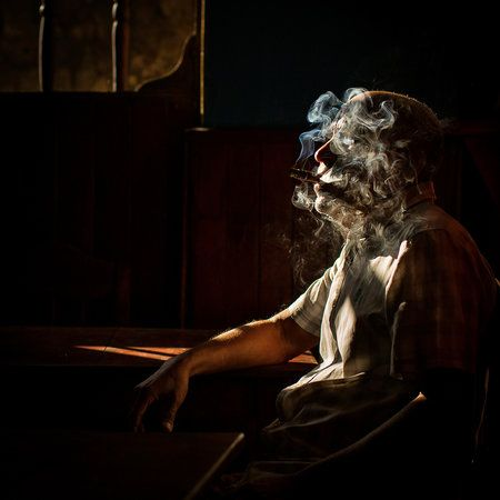 Smoked in Havana, Cuba by Dan Mirica