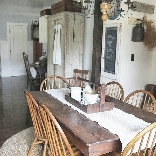 17 Best Images About Primitive Dining Room On Pinterest
