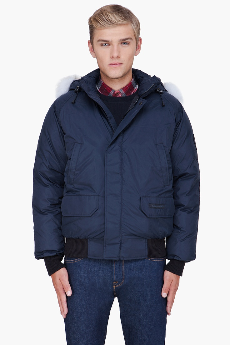 Canada Goose' down bomber jacket with hood
