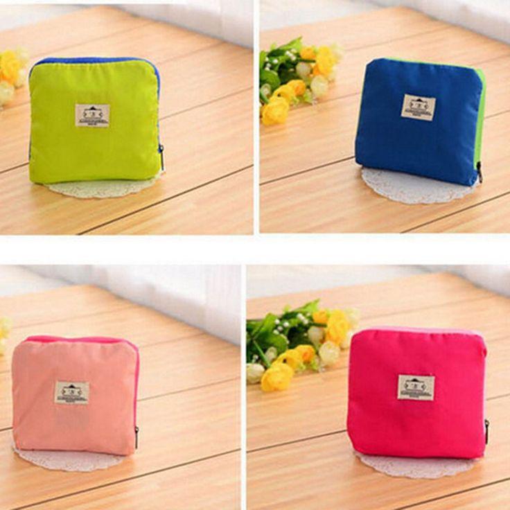Reusable Waterproof Folding Eco Shopping Travel Shoulder Bag Pouch Tote Handbag | eBay