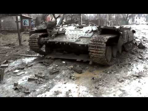 Ukraine News Today ,Destroyed armor all over Vuhlehirsk