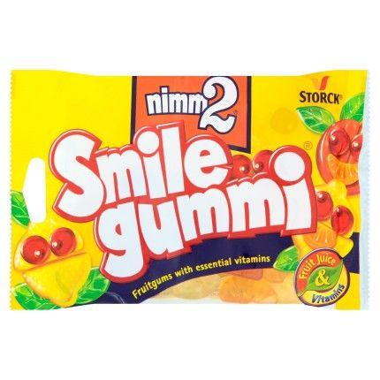 Nimm2 Smile gummi Ovocné želé s obsahem vitaminů 100g