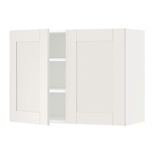METOD Nást. skříňka s policemi/2 dvířky IKEA Díky nastavitelné polici si vnitřní prostor upravíte podle vašich potřeb.