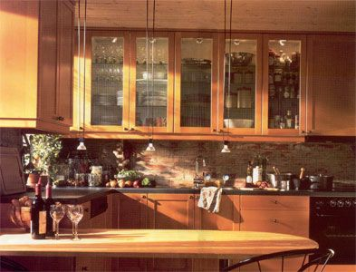 I Want These Glass Front Kitchen Cabinet Doors