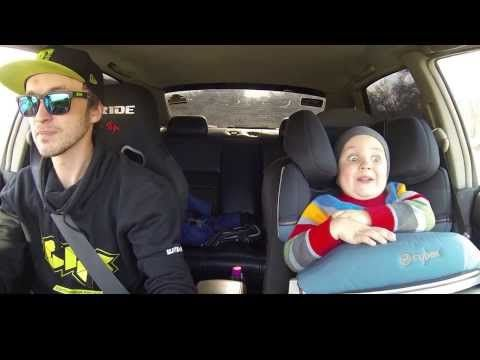 Watch this little boy's face in this #epic father & son car #drifting video! #BestDad #CrazyKid #Cute http://bit.ly/21m25E5