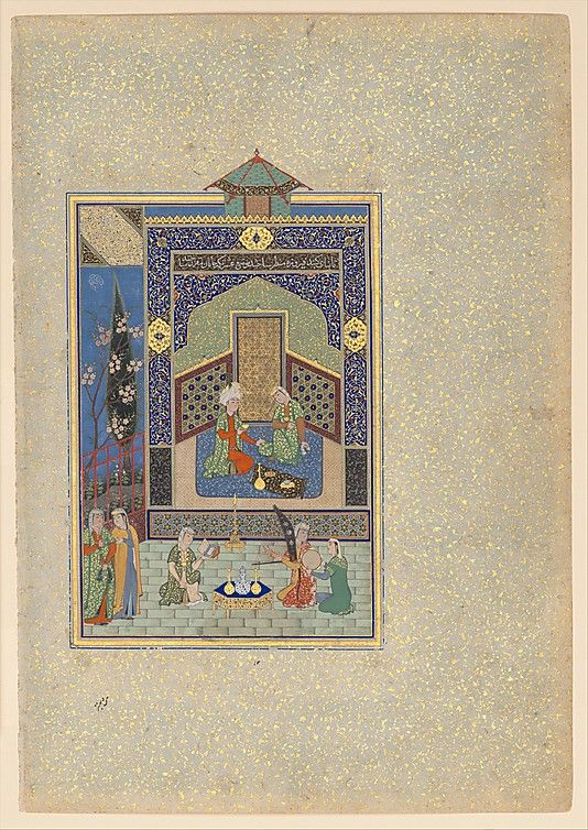 The fourth of the late twelfth-century Persian poet Nizami's five epic poems, later combined to form the famous Khamsa (Quintet), was the Haft Paikar, or Seven Portraits, so named from one incident in the story