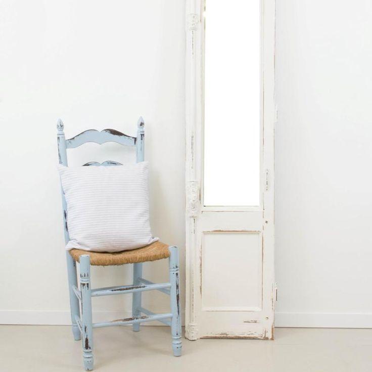Antic&Chic. Decoración Vintage y Eco Chic: [DIY] Cómo hacer un espejo a partir de una puerta balconera o ventana