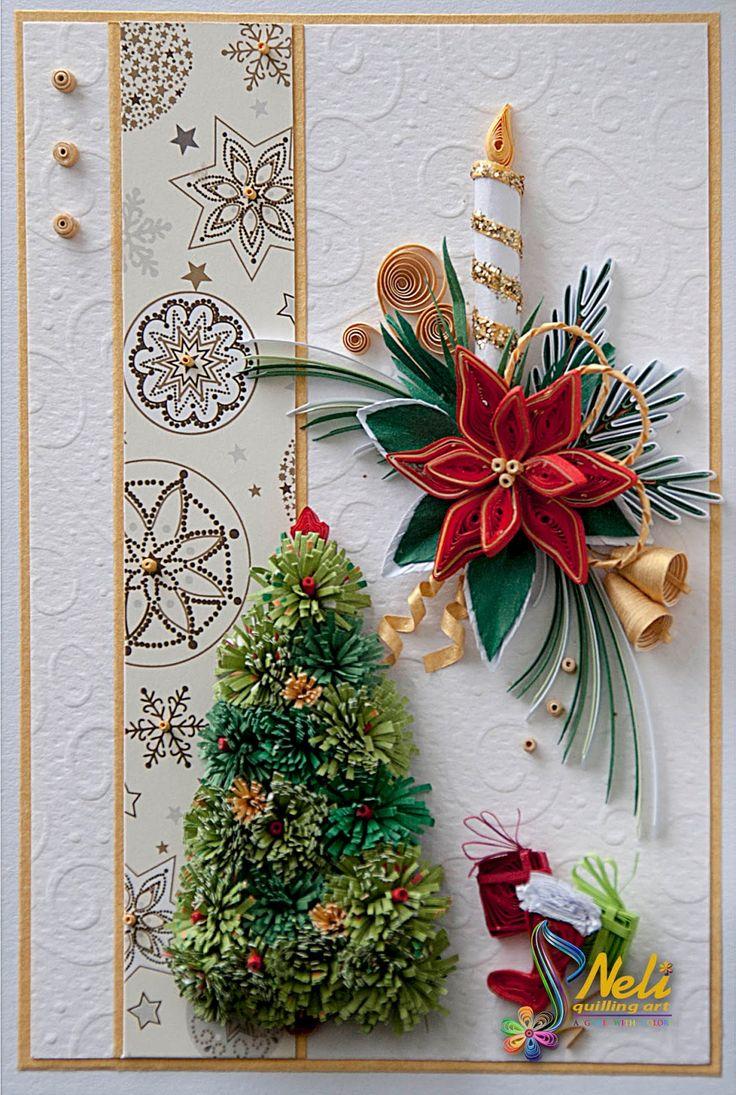 Neli Quilling Art: Preparation for Christmas _ # 7