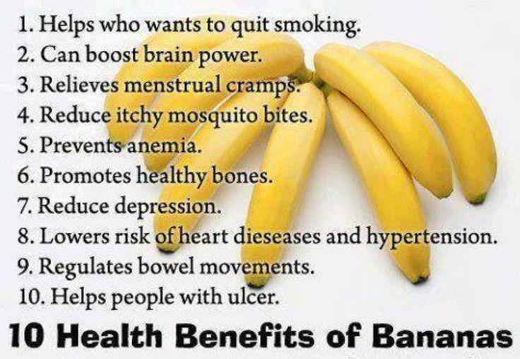 nutritional benefits of bananas