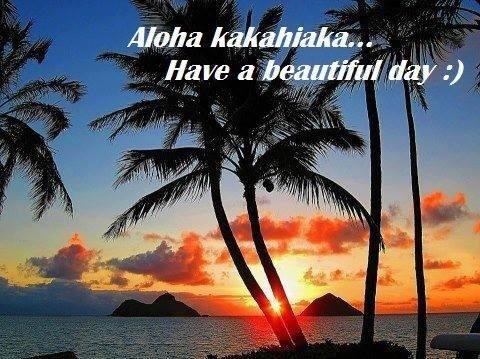 Aloha Kakahiaka Aloha