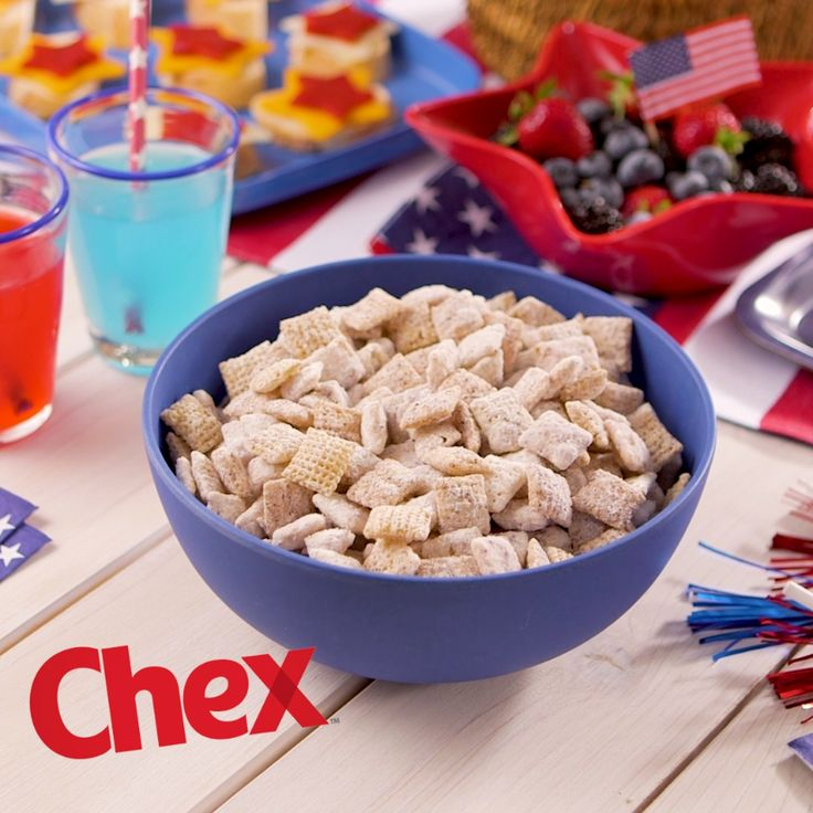 Blueberry-Lemon Muddy Buddies is the perfect sweet treat for your 4th of July party! Ready in just 15 minutes, Blueberry-Lemon Muddy Buddies has a fresh lemon flavor with a touch of sweetness. A summer twist on our classic recipe, Blueberry-Lemon Muddy Buddies is your 4th of July in the making.