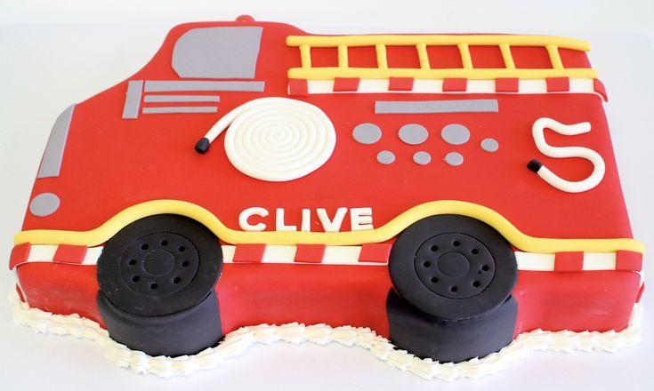 Fire truck Cake by Cake Bash Studio & Bakery, Lake Balboa CA